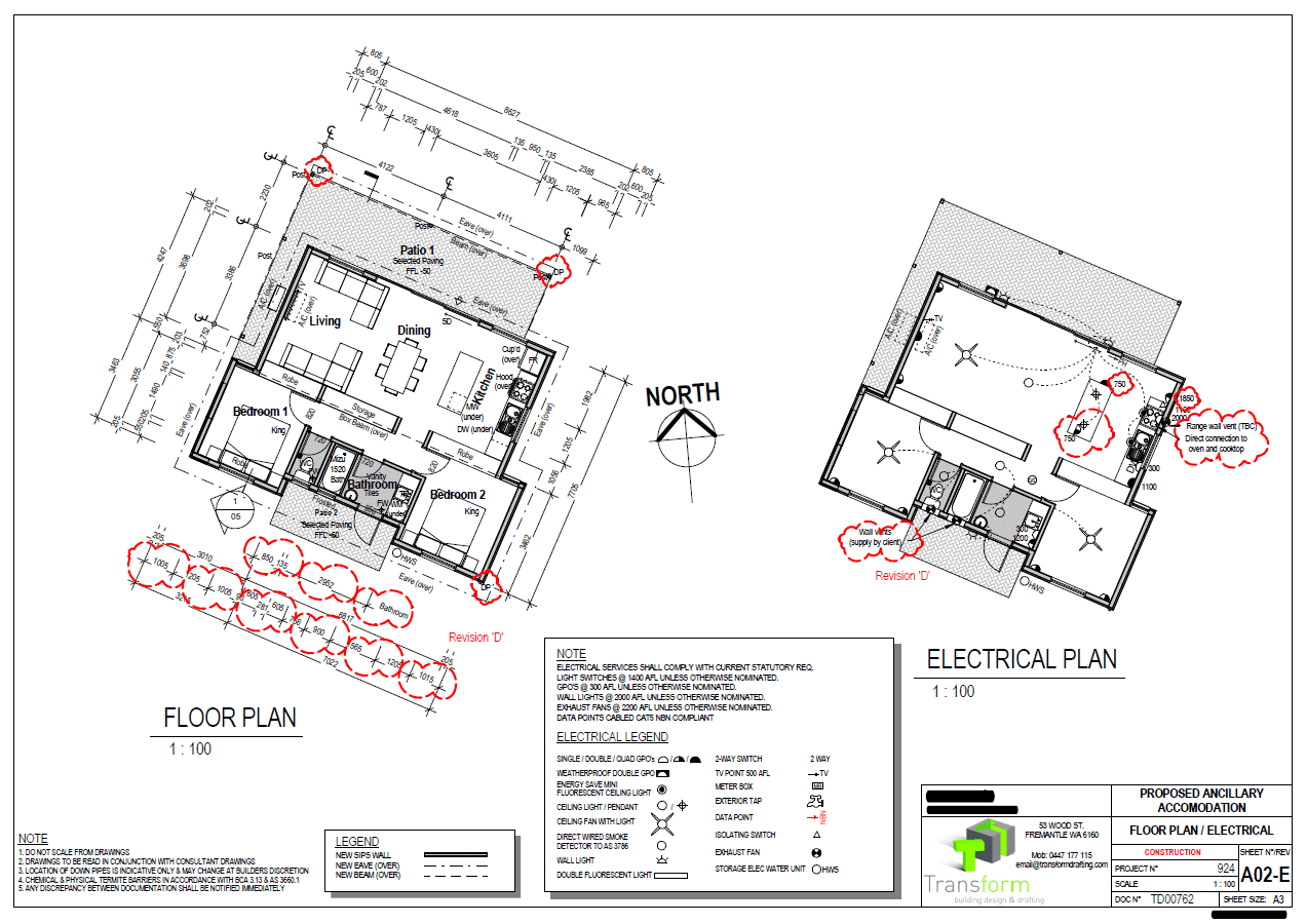 3. Floor Plan & Electrical