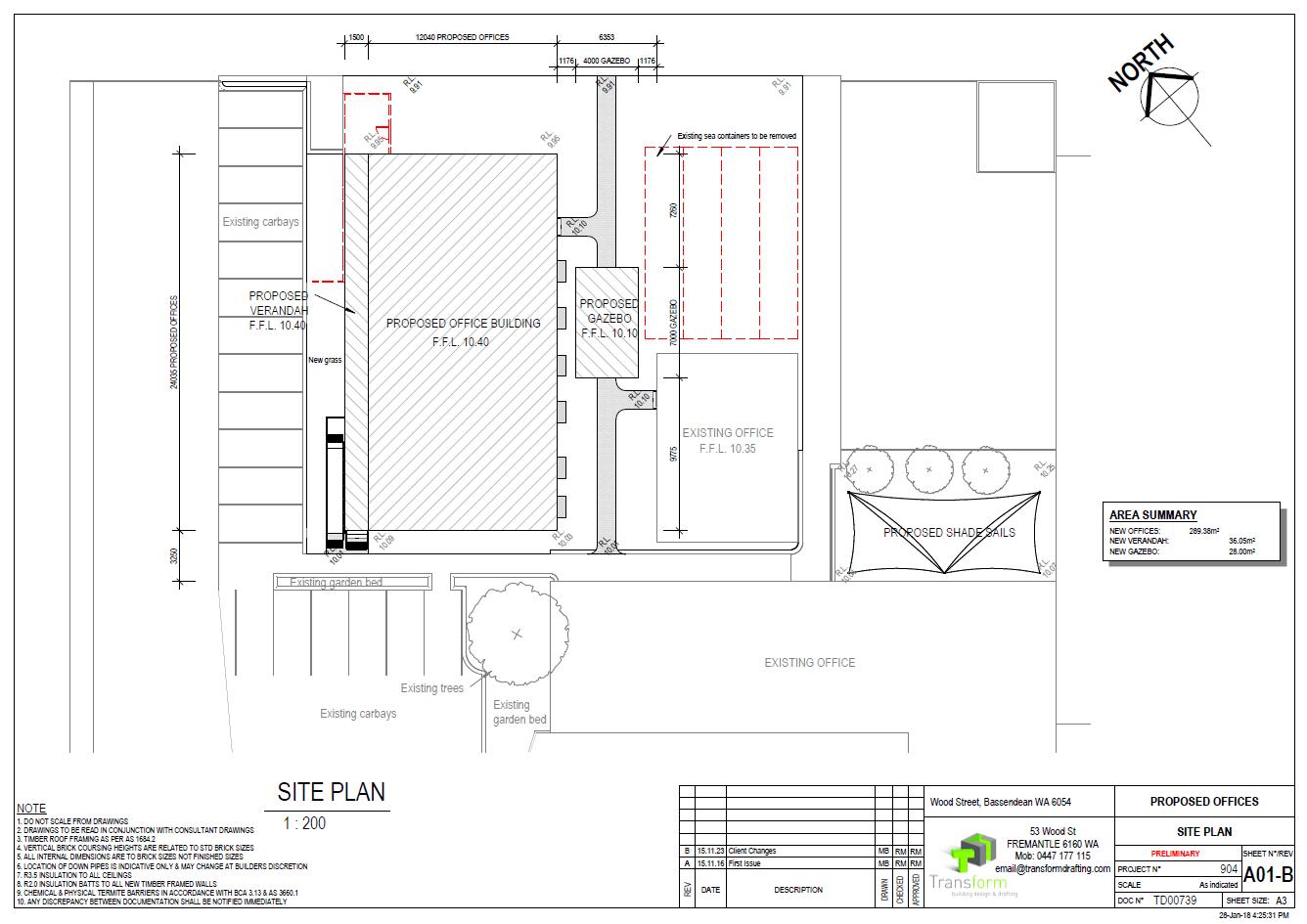 2. Site Plan