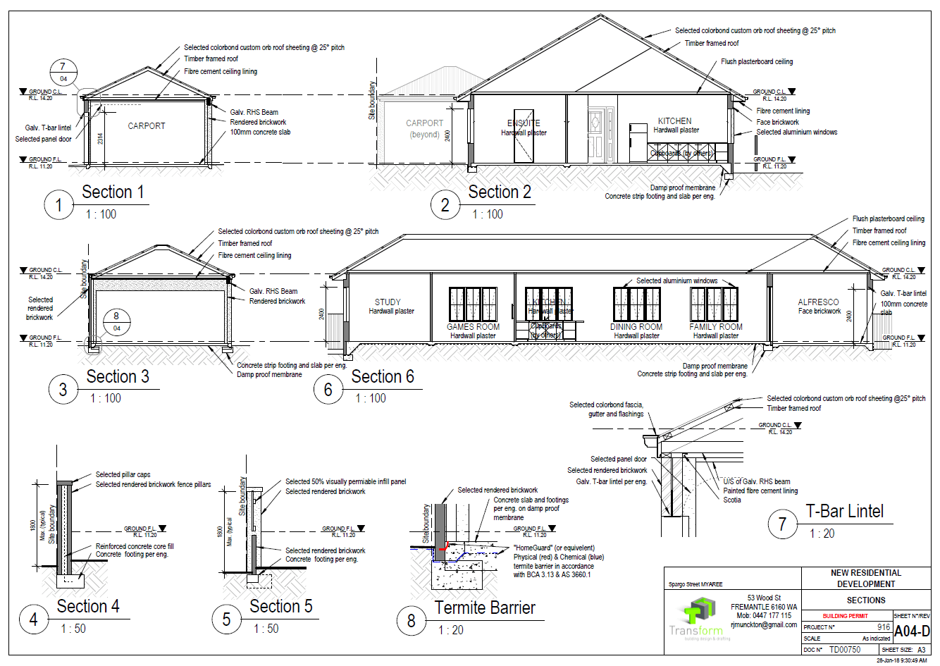 5. Sections Details