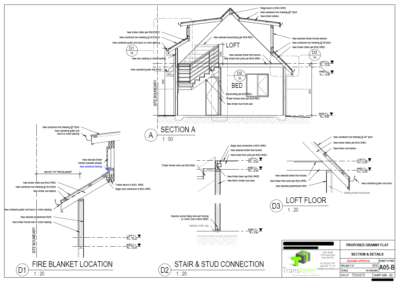 6. Section Details