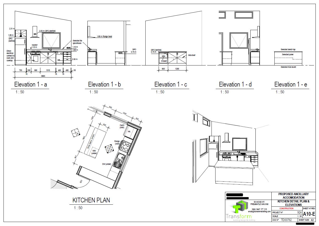 8. Kitchen Detailed Setout