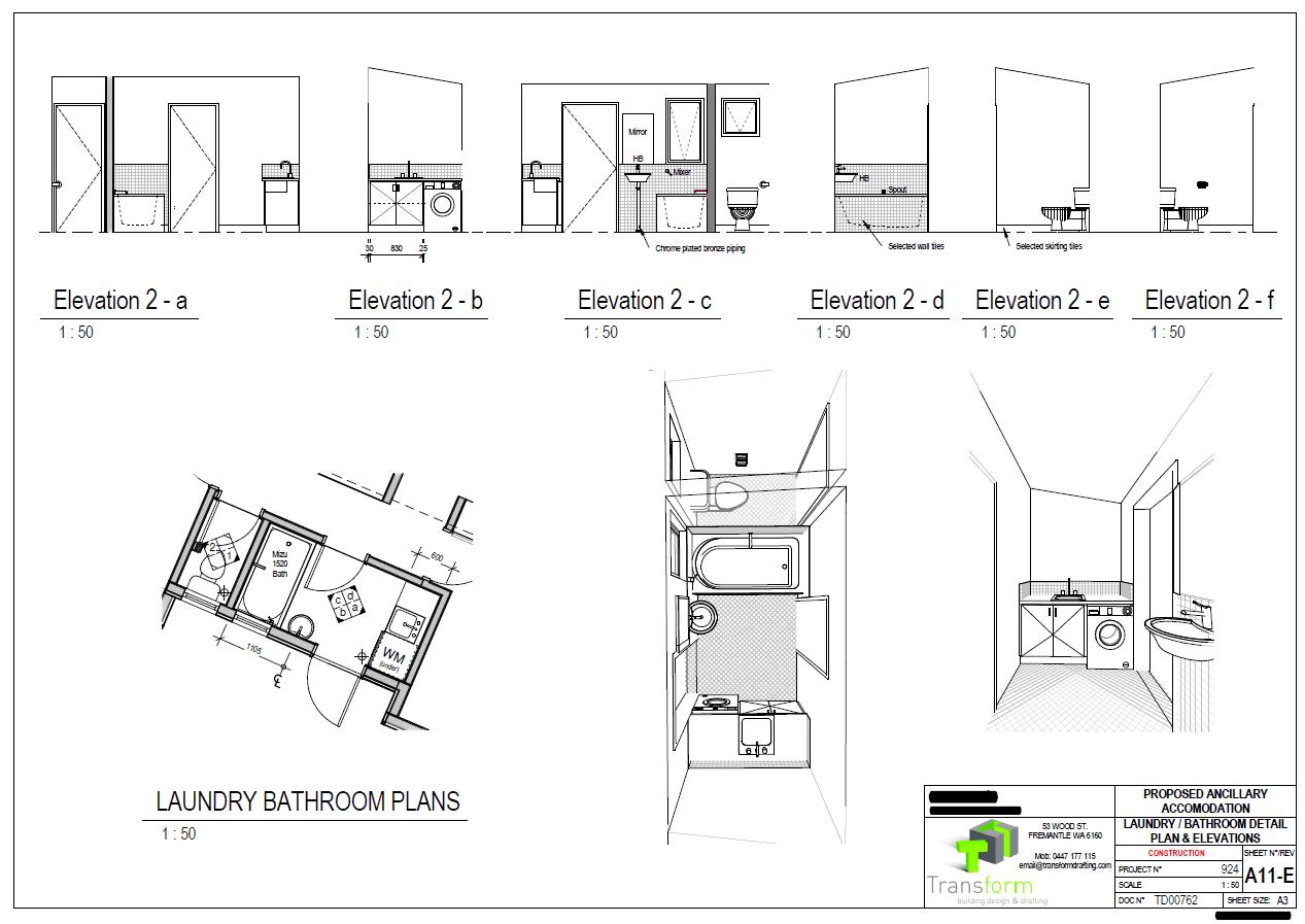 9. Laundry Detailed Setout